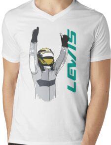 Lewis Hamilton Mens V-Neck T-Shirt
