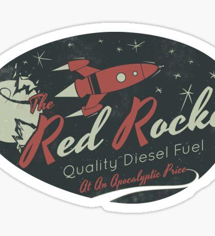 Red Rocket (Distressed) Sticker
