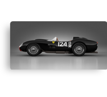 Ferrari 250 Testa Rossa - Rosette Canvas Print