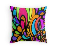Cresent Day Dream Throw Pillow