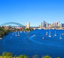 Sydney Harbour by Michael Vickery
