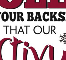 Seinfeld Inspired - Celebrate Festivus - Costanza Holiday Festivus - Merry Christmas - Festivus Pole Holidays - Parody Sticker