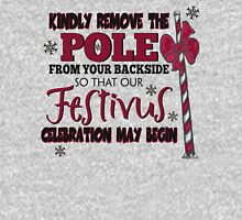 Seinfeld Inspired - Celebrate Festivus - Costanza Holiday Festivus - Merry Christmas - Festivus Pole Holidays - Parody Unisex T-Shirt