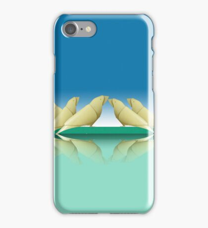 group of parakeets iPhone Case/Skin
