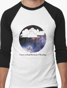 Hitchhiker's Guide Whale Men's Baseball ¾ T-Shirt