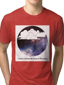 Hitchhiker's Guide Whale Tri-blend T-Shirt
