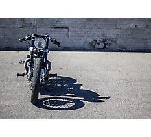 Bonneville Cafe Racer Redux Photographic Print