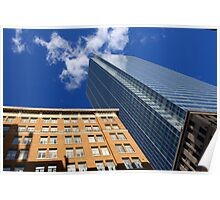 Look Up! -Downtown Toronto Poster