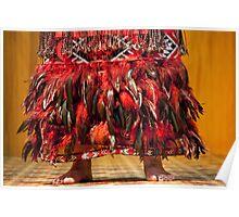 Maori Haka Costume Poster