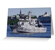 Ready to sail-Stockholm Greeting Card