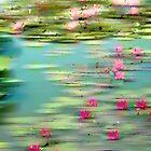 Lily Pond Impressions by Jessica Jenney