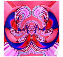 contemporary techno art 1005 Poster