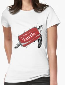 Share a coke with your turtle Womens Fitted T-Shirt