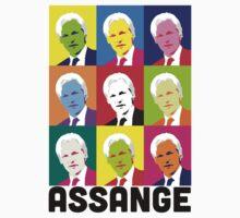 Assange (Light) by poparartzi