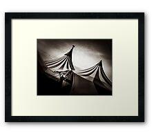 Cirque Tent Framed Print