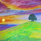 Sunset Of The Summer Sky by Sesha