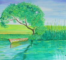 Lonely Boat by Sesha
