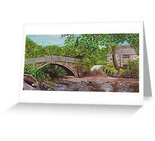 Beckfoot Bridge Greeting Card