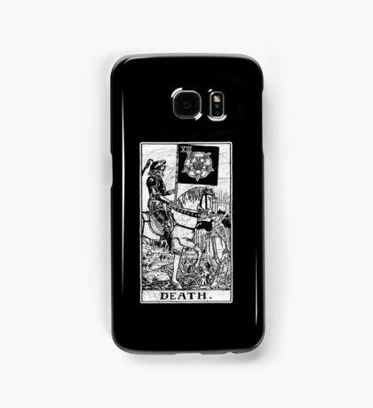 Death Tarot Card - Major Arcana - fortune telling - occult Samsung Galaxy Case/Skin