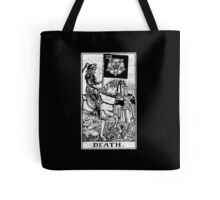 Death Tarot Card - Major Arcana - fortune telling - occult Tote Bag