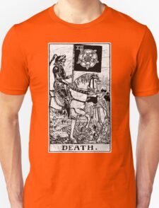 Death Tarot Card - Major Arcana - fortune telling - occult T-Shirt