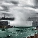 Storm at Niagara by Gracey