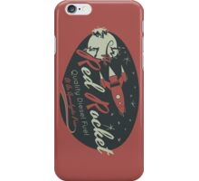 Red Rocket iPhone Case/Skin