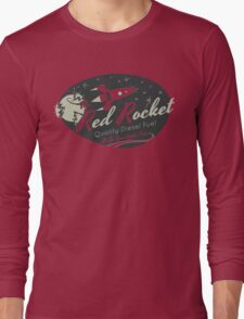 Red Rocket (Distressed) Long Sleeve T-Shirt