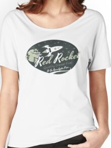 Red Rocket (Distressed) Women's Relaxed Fit T-Shirt