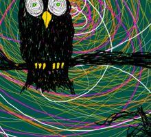 daymare owl spooky Sticker