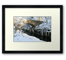 Winter in the Lake District Framed Print