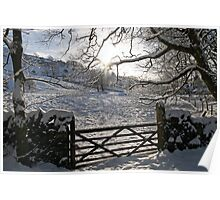 Wintertime in Kendal Poster
