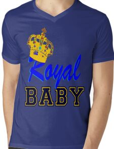 §♥Royal Crowned Baby Fantabulous Clothing & Stickers♥§ Mens V-Neck T-Shirt