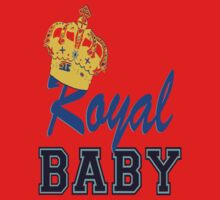§♥Royal Crowned Baby Fantabulous Clothing & Stickers♥§ One Piece - Long Sleeve