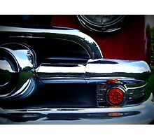 Classic Car in Red Photographic Print