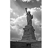 Light of Liberty Photographic Print