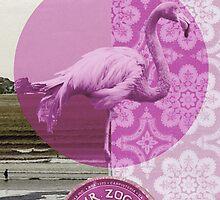 """""""Mrs Flamingo"""" by ShaneThompson"""
