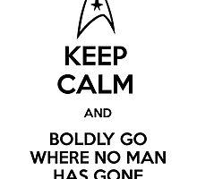 Keep Calm and Star Trek by GabrielaBeltram
