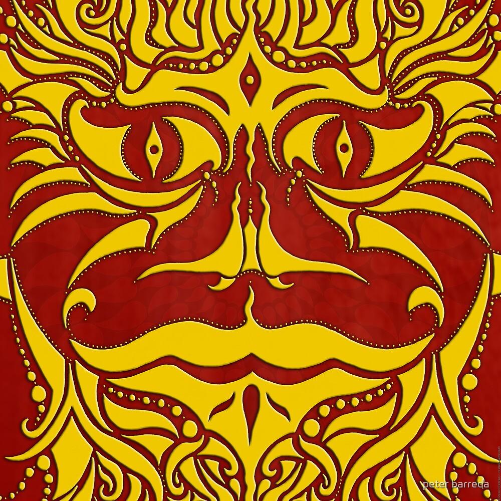 kundoroh golden dragon by peter barreda