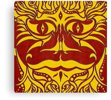kundoroh golden dragon Canvas Print