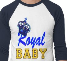 §♥Royal Crowned Baby Fantabulous Clothing & Stickers♥§ Men's Baseball ¾ T-Shirt