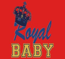 §♥Royal Crowned Baby Fantabulous Clothing & Stickers♥§ One Piece - Short Sleeve