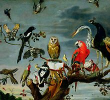Concert of Birds by Bridgeman Art Library