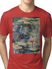 Nymph Echo, watercolor on paper Tri-blend T-Shirt