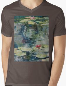 Nymph Echo, watercolor on paper Mens V-Neck T-Shirt