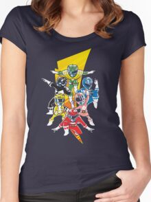 Morphin' Force Women's Fitted Scoop T-Shirt