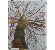 Knitting the Wind, mixed media on canvas iPad Case/Skin