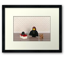 Home life of a Sith Lord Framed Print