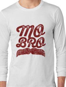 MOVEMBER – MO BRO Long Sleeve T-Shirt