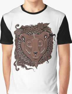 Stag head and endless Celtic know Graphic T-Shirt